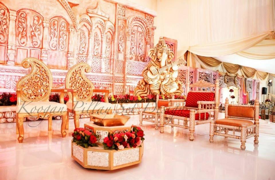Indian Wedding Decor Company Durban Koogan Pillay Wedding Decor