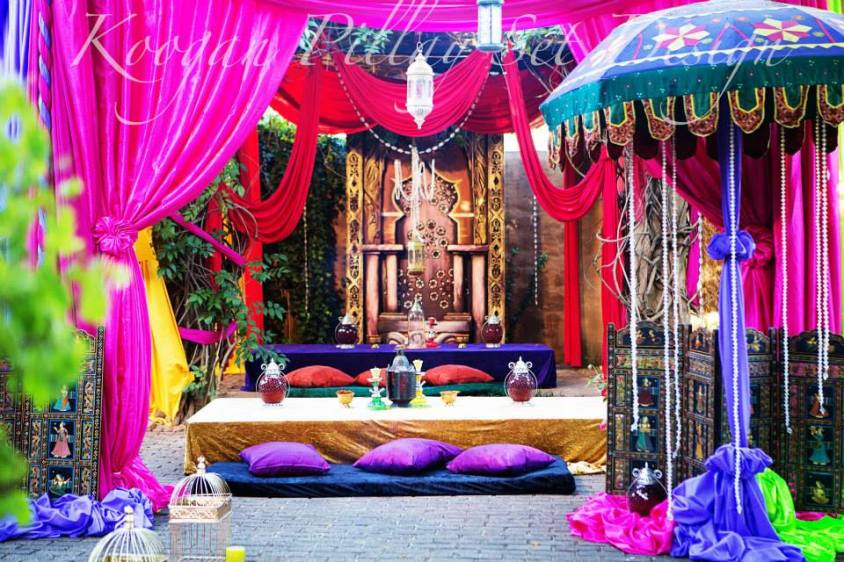 Moroccan/Arabian Outdoor Set