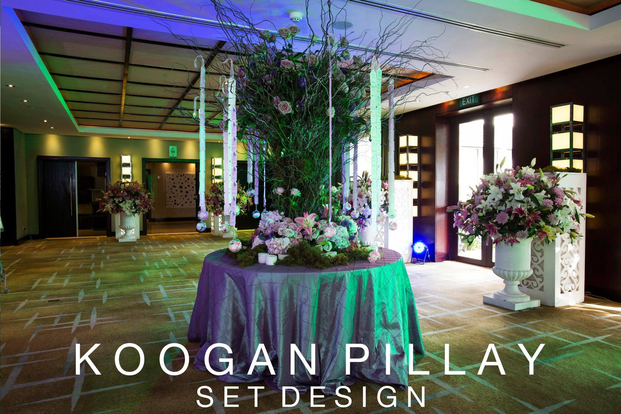 Wedding decor company durban koogan pillay wedding for Decor company
