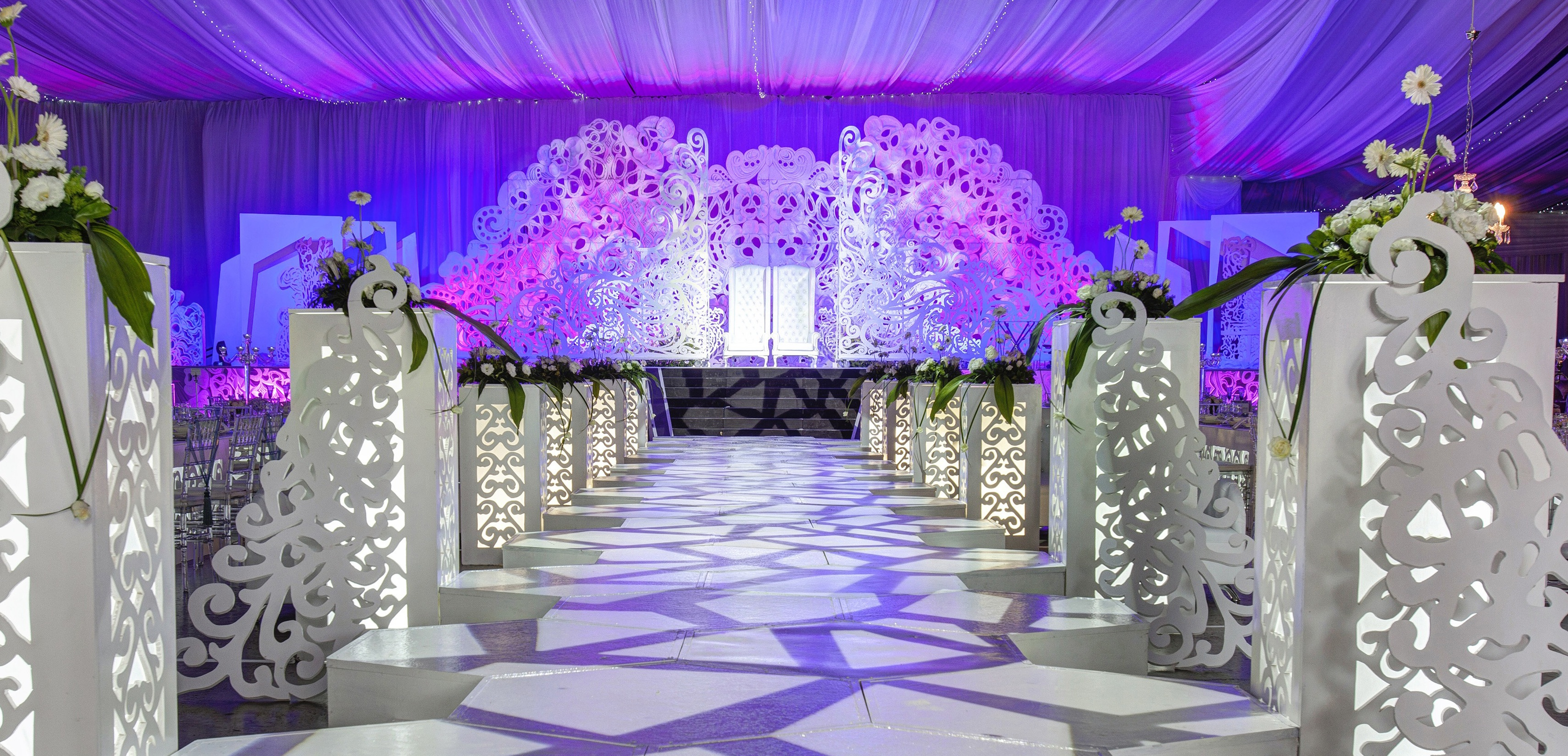 Muslim Wedding Decor Company Durban Koogan Pillay Wedding Decor