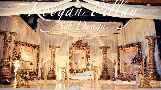 Indian Wedding Decor Company Durban Koogan Pillay Wedding Decor
