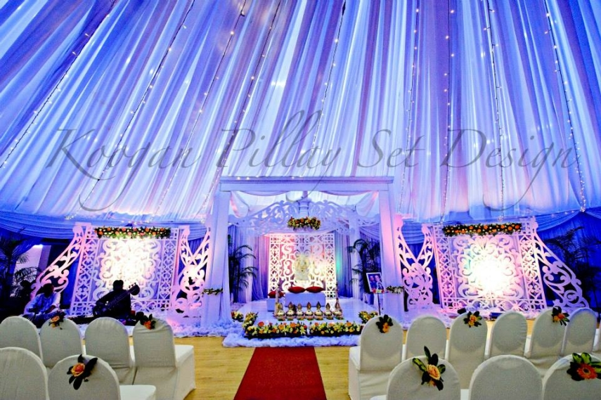 Koogan pillay wedding decor durban indian wedding decor hire modern mandap junglespirit Gallery