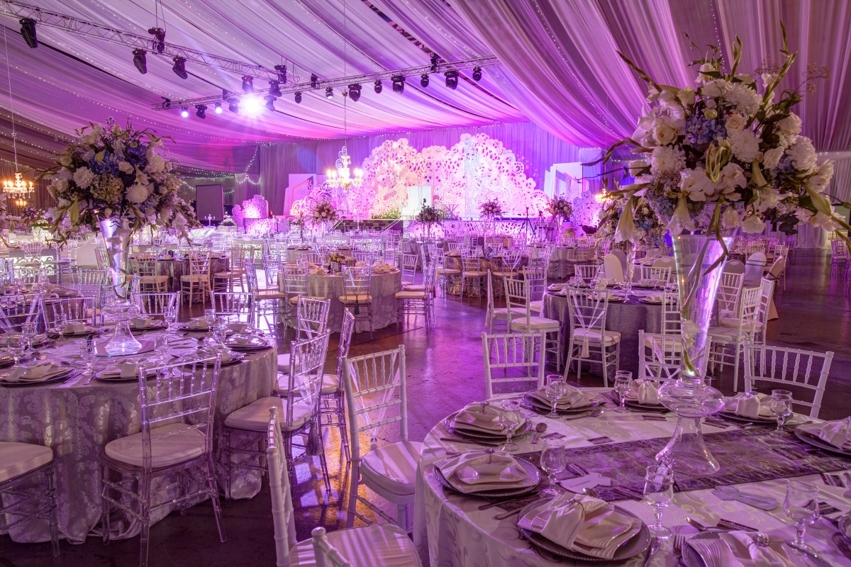 Gallery koogan pillay wedding decor durban for Muslim wedding home decorations